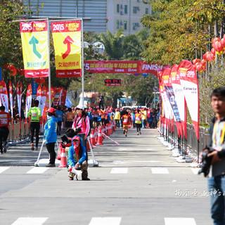 2015深圳大鹏新年马拉松