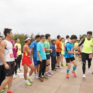 2014复旦新江湾马拉松接力赛