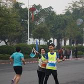 20150111揭阳马拉松5km点