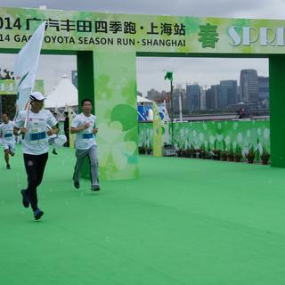 """2014""""四季跑""""嘉年华上海站"""