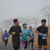 雪景跑4公里处 9:00-9:30