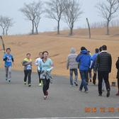 雪景跑终点前100米10:00-10:20