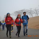雪景跑4公里处9:32-10:00
