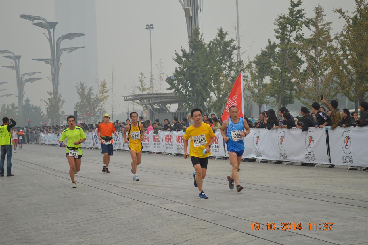 2014年北京马拉松 终点部分照片图片