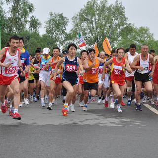 2015长春净月潭森林马拉松