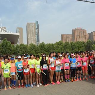 2015河南省首届高校马拉松接力赛暨郑州跑团邀请赛