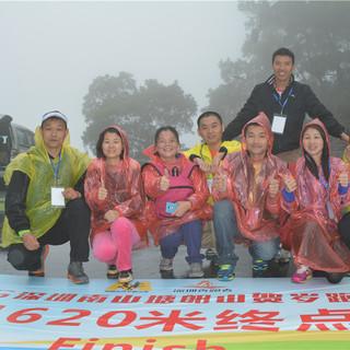 2015深圳南山塘朗山贺岁跑山赛