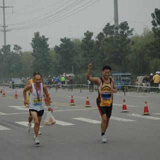 2014衡水湖国际马拉松赛