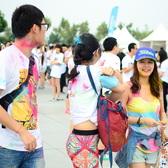 上海color run 9点到10点半AM赛场外照片