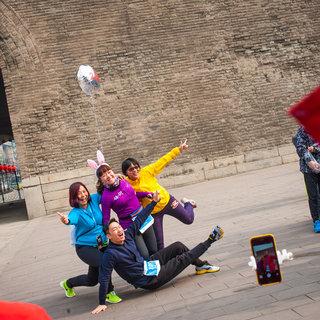 2016雅培西安古城马拉松