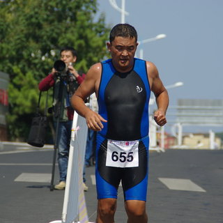 2014威海世界长距离铁人三项锦标赛
