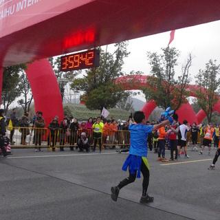 13 12 苏州太湖国际马拉松 照片 爱燃烧