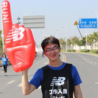 2014 New Balance 慢跑英雄联盟6K公益跑(重庆站)