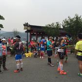 九龙湖洗肺之旅,94号跑者手机拍摄