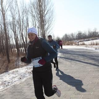 2016北京野鸭湖冰雪马拉松(半程)