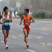 2015合肥国际马拉松17KM(8:55-9:45)