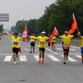 """2015""""中建东孚""""杯上海青浦半程马拉松"""