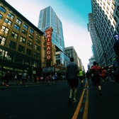 2014芝加哥马拉松比赛日