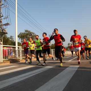 2014深圳大鹏新年马拉松