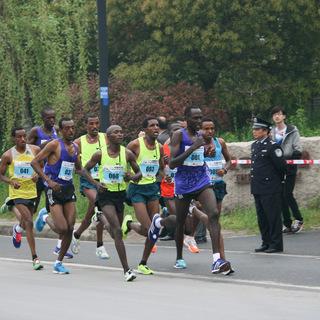 2015扬州国际半程马拉松赛