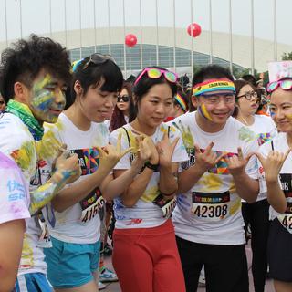 The Color Run彩色跑 上海站