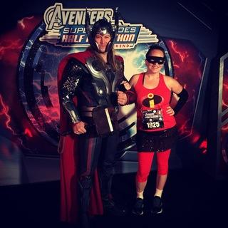 2014 复仇者联盟超级英雄半程马拉松