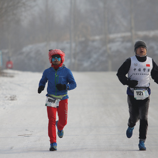 2016 万科松花湖冰雪马拉松