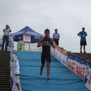 """2014安徽池州""""海峡杯""""铁人精英赛"""
