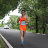 2015-5-2 武汉后官湖半程马拉松 18Km处
