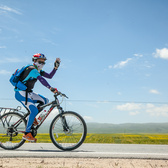 2014年商学院EMBA环青海湖自行车友谊赛照片