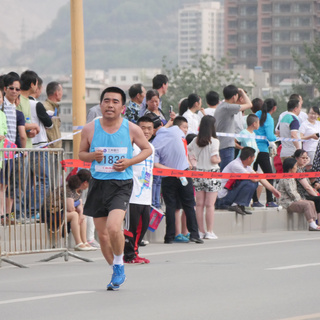 2015兰州国际马拉松