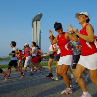 2015 新加坡女子马拉松