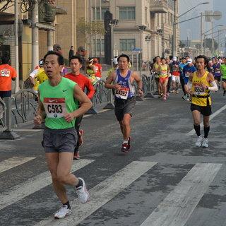 2013上海马拉松赛