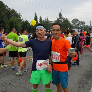 2015 成都金温江半程马拉松