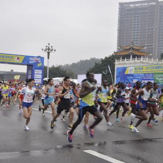 2013珠海国际半程马拉松赛