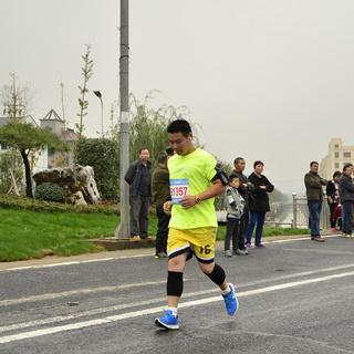 2015 浙江诸暨马拉松赛