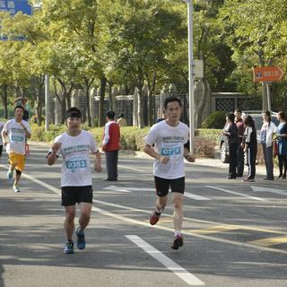 2014杨浦新江湾城8公里