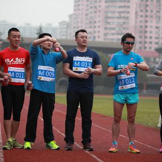 第二届上海BeerMile啤酒一英里比赛