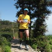 戴村第二截山地马拉松全程组CP2段照片