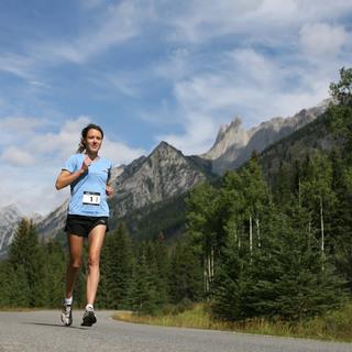 2014加拿大班夫国家公园马拉松赛