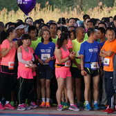2016优悦李宁10公里路跑联赛兰州城关站