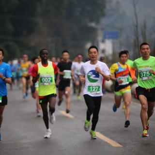 农村合作银行杯--黄岩首届山地马拉松赛