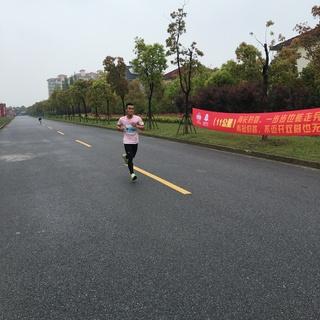 2016上海海湾马拉松赛--550乡村马拉松第六站
