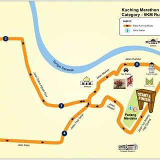 古晋马拉松 Kuching marathon