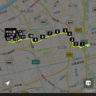 2016 5.1上海公园公益闺蜜跑(世纪公园站)