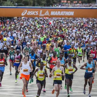 2014 洛杉矶马拉松