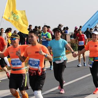 19km(凤林大桥)~半马终点 9:42~10:35