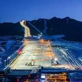 """2018""""丝绸之路国际度假区""""冰雪越野系列赛"""