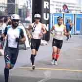 跑步+自行车