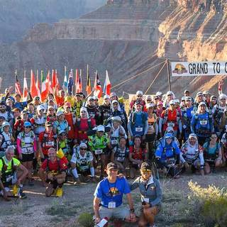 2016 美国大峡谷超级马拉松赛事